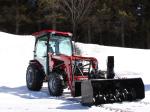 """Souffleuse 66"""" Vantage pour tracteurs avec attache frontale de type """"Skid Steer"""""""