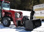 """Souffleuse 72"""" Vantage pour tracteurs avec attache frontale de type """"Skid Steer"""""""