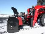 """Souffleuse 54"""" Versatile Plus pour tracteur avec attache frontale de type """"Skid Steer"""""""