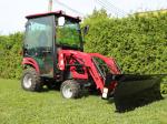"""Lame à neige de type résidentiel pour tracteurs avec attache frontale de style """"Skid Steer"""""""